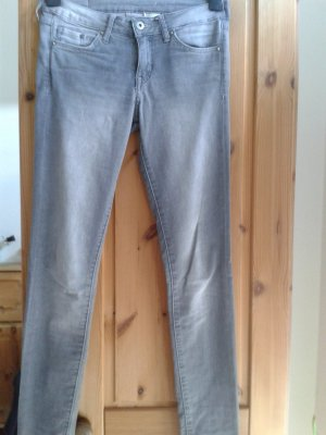 Jeansröhre in Grau W24/L30 von H&M &Denim