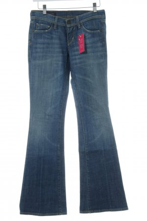 Jeans flare bleu style seconde main