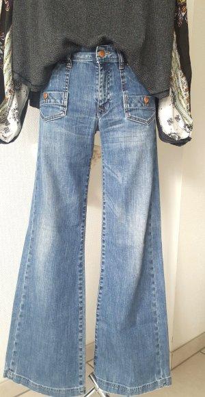 Jeansschlaghose *Fit Wide* Gr. W 30