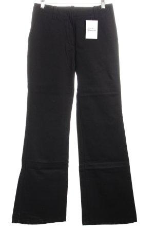 Jeansschlaghose schwarz klassischer Stil