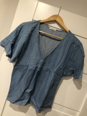 Promod Oversized shirt korenblauw