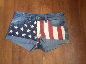 Jeansshort Amerika-Flagge Review XS