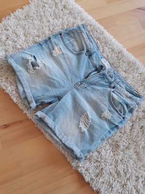 Amisu Denim Shorts azure