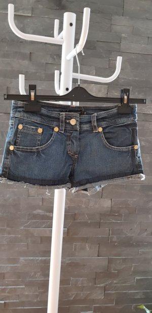 Denny Rose Pantalón corto de tela vaquera azul