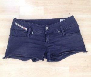 Diesel Pantaloncino di jeans blu-blu scuro