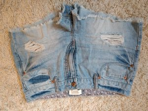 Jeansshort, Hotpants used look