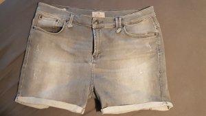 LTB Short en jean gris