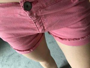 Jeansshort rose Größe 36
