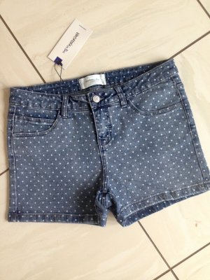 Vero Moda Shorts white-steel blue