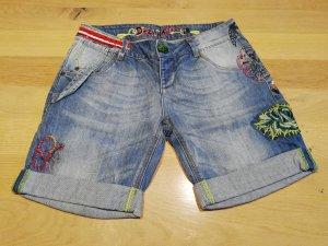 Desigual Denim Shorts blue