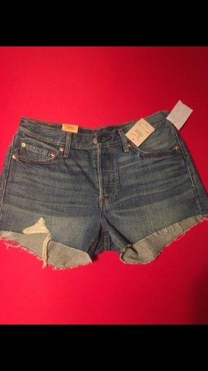 Jeansshort von Levis