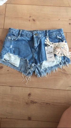 Zara Short bleu clair