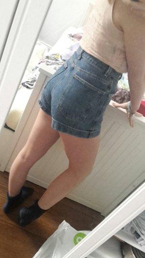 American Apparel Pantalon taille haute multicolore