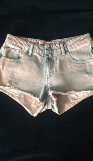 Zara Denim Shorts multicolored