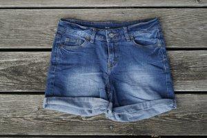 Denim Shorts dark blue-slate-gray