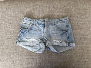H&M Shorts azzurro-blu Cotone