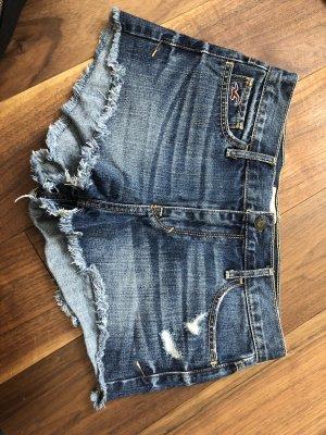 Hollister Shorts dark blue-steel blue