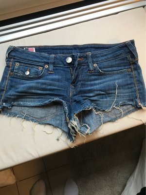 True Religion Denim Shorts blue