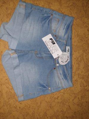 Pantaloncino di jeans azzurro