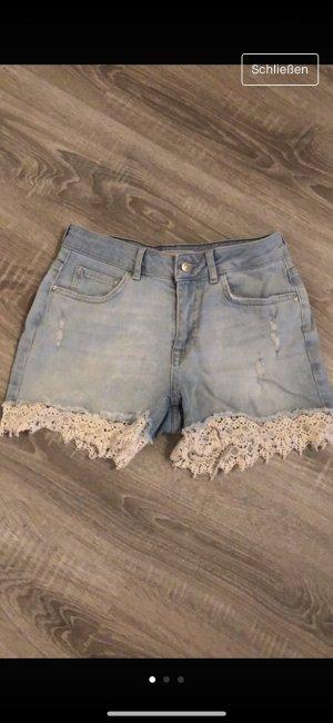 Pimkie Short en jean bleu azur