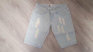 Jeansshorts Bermudashorts St.Lanki Größe 38 used Look hellblau