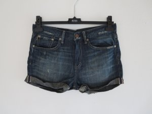 Jeansshorts blau Used 27
