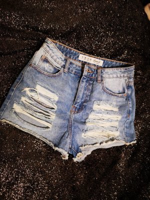 Denim Co. Short en jean bleu azur