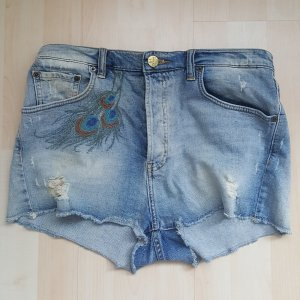 TRF Pantaloncino di jeans blu