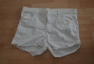 Jeansshorts H&M Denim Weiß