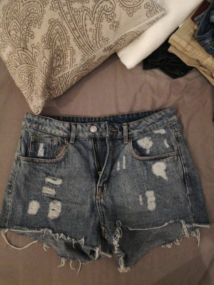 Jeansshorts high waisted