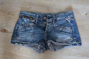 Replay Denim Shorts blue cotton