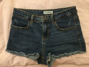 Jeansshorts im used Look