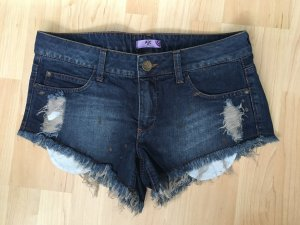 AJC Denim Shorts dark blue