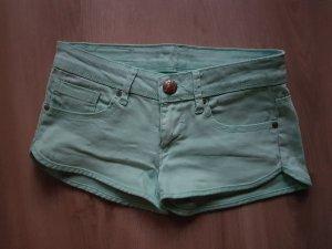 Jeansshorts mintgrün