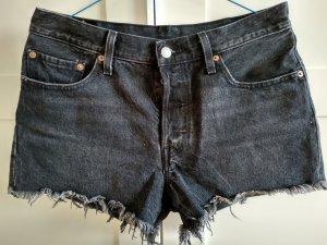 Levi's Short en jean noir