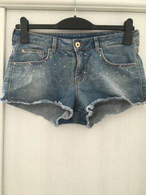 Jeansshorts mit Verzierung von H&M