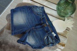 Promod Short donkerblauw-blauw