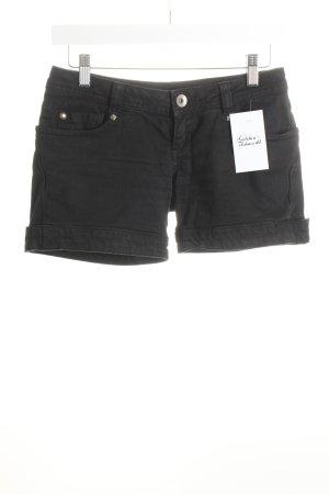 Jeansshorts schwarz Casual-Look
