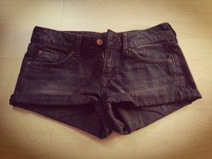 Jeansshorts schwarz H&M XS