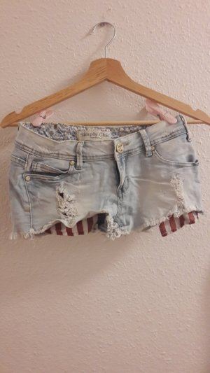 Jeansshorts Shorts kurze Hose simply Chic Größe S 36