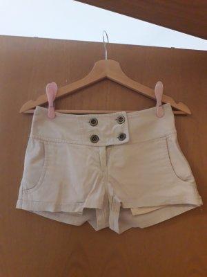 H&M Pantaloncino di jeans bianco