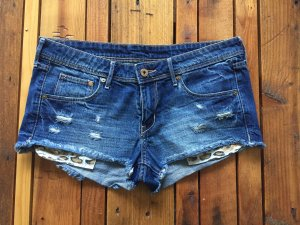 Jeansshorts Used-Look Hotpants