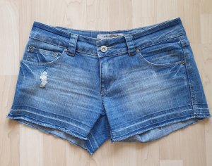 Clockhouse Shorts blue cotton