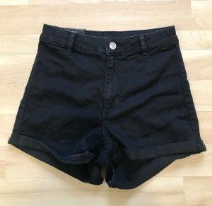 H&M Hoge taille jeans zwart