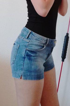 H&M Short en jean bleu azur-bleu acier