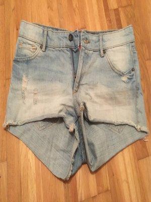 Jeansshorts von H&M in Größe 38