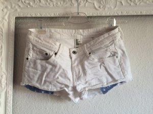 Jeansshorts von H&M in weiß, Gr. 38