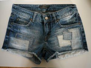 Jeansshorts von SET low waist