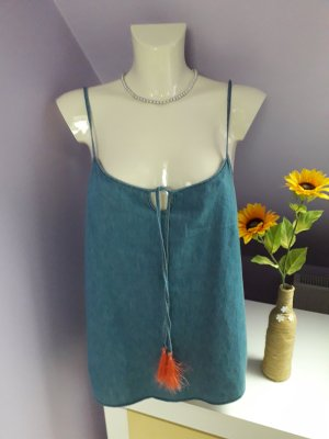 Spaghetti Strap Top blue