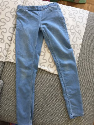 H&M Treggings azul celeste